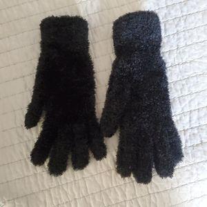 Covington Fuzzy Gloves Black